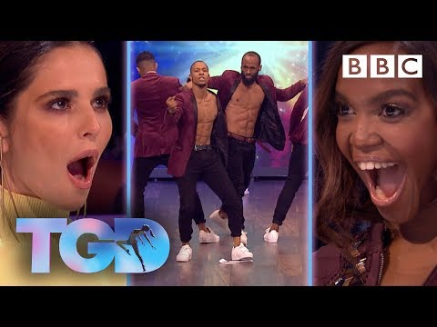 Froback's sizzling street dance opens the competition! - The Greatest Dancer | Auditions