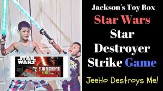 Star Wars The Force Awakens Star Destroyer Strike Game - Don't Get Blown Up