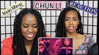 Nicki Minaj - Chun-Li (Music Video) REACTION