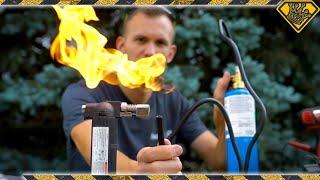 Liquid Propane and TASER Powered Ignition