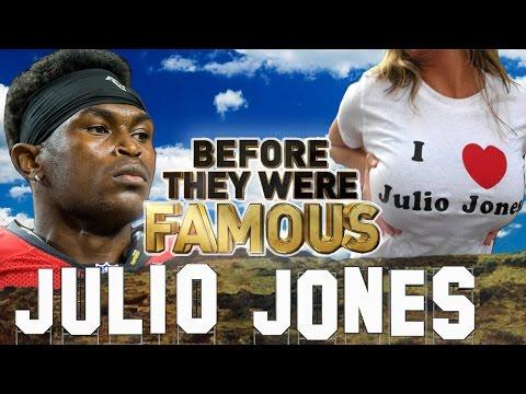 JULIO JONES - Before They Were Famous - Atlanta Falcons