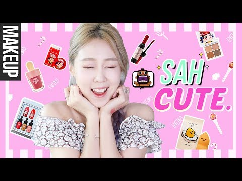 The CUTEST Korean Makeup You'll Want to Eat.. seriously. 🤓😍🍭 + GIVEAWAY! 레알 먹고싶은 귀요미 끝판왕 화장품!