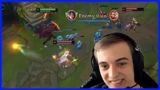 Lux Ganked Caps And This Happened... - Best of LoL Streams #652