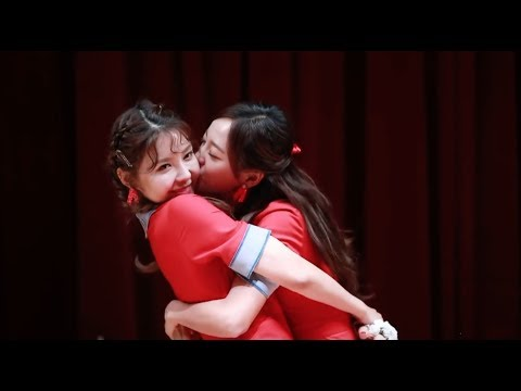 Sejeong and Nayoung Being Gay