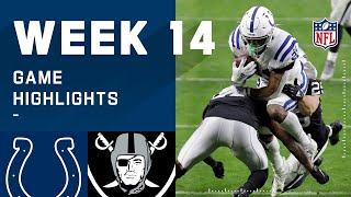 Colts vs. Raiders Week 14 Highlights | NFL 2020