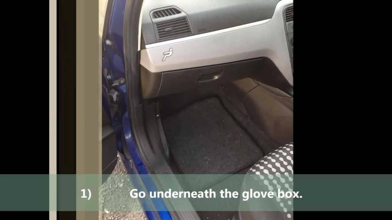 Fiat 500 Fuse Box Location