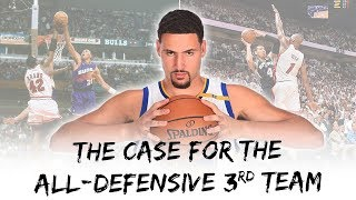 The Case For The All-Defensive 3rd Team ©