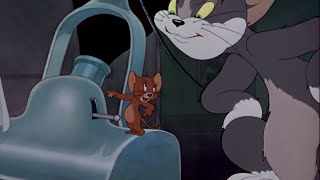 Tom and Jerry - fraidy cat