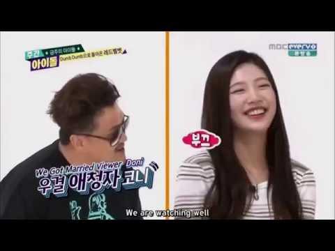 150923 Weekly Idol - Joy teased About Sungjae