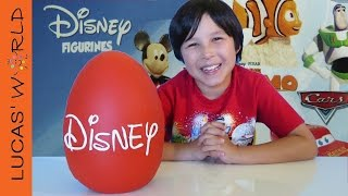 Disney Giant PLAY DOH Surprise Egg FINDING DORY LEGO INSIDE OUT FUNKO Toys figures & BLIND BAGS!