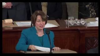 """Joe Biden SHUTS DOWN Democratic Congresswoman """"It is Over"""". Gets Standing Ovation From GOP 1/6/17"""
