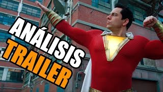 SHAZAM! Trailer 2 OPINION y ANALISIS COMPLETO! (RE-UPLOAD)