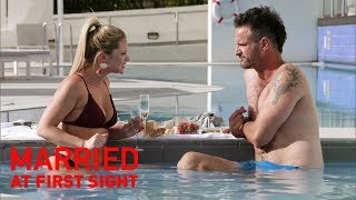 Jess is furious Mick told the boys they had sex | MAFS 2019