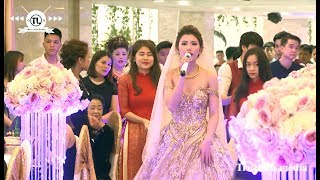 Cô Dâu Xinh - Chú Rể Đẹp mà lại hát hay quá chứ| Ngày Cưới