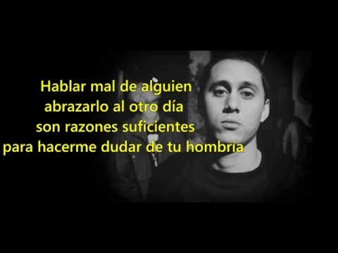 CANSERBERO - ALL WE NEED IS HATE/ENFERMO (con letra)