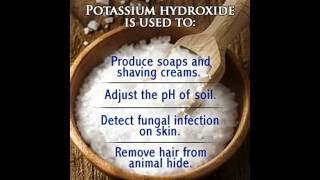39 Uses of Potassium Hydroxide