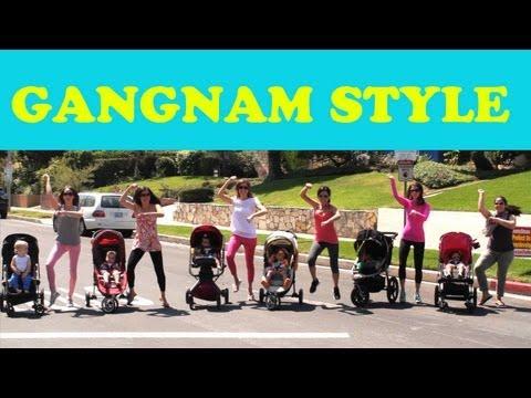 BABY GANGNAM STYLE PARODY (강남스타일) feat. Baby Psy & LA Moms!