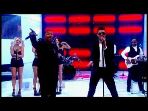 Baixar Robin Thicke - Blurred Lines ft. T.I. & Pharrell (Live Graham Norton Show)