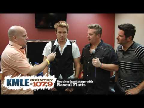 Rascal Flatts - Backstage Interview - YouTube