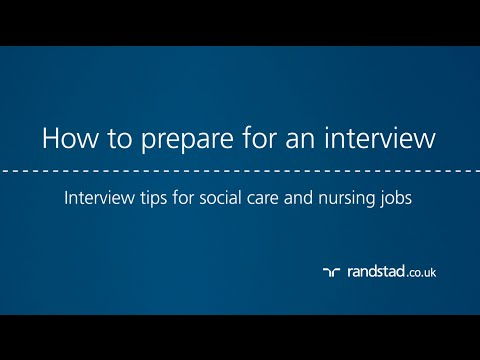 How to prepare for an interview: Interview tips for social care and nursing jobs