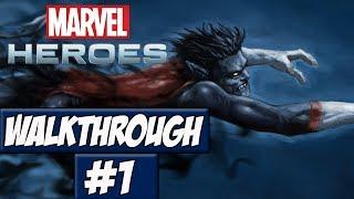 Marvel Heroes Walkthrough Ep.1 w/Angel - Ranting!