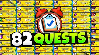 I Completed ALL 82 Brawl Pass Quests in Only 65 MINUTES! (World Record Time)