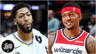 Should Lakers stop pursuing Anthony Davis and trade for Bradley Beal? | The Jump