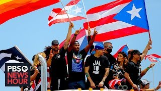 In San Juan, a 'wide swath' of Puerto Ricans takes to the streets to demand Rossello resign