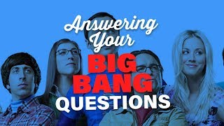 Answering Your Big Bang Theory Questions! || Mayim Bialik