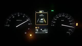 Subaru Impreza 2.0i 2018 acceleration 0-100 0-160 0-200