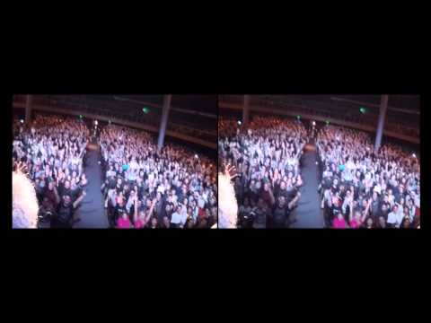 3D Selfie Stick Video - Florence, Italy [February 24, 2016] - Kerry Ellis & Brian May