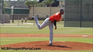 Sandy Alcantara - Miami Marlins prospect (RHP) - Full RAW Video