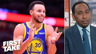 Steph Curry is Stephen A.'s early NBA MVP | First Take
