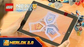 GAME LEGO NEXO KNIGHTS MERLOK 2.0 | THỬ SỨC MẠNH BỘ 3 KHIÊN NĂNG LƯỢNG