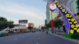 Sài Gòn, từ phi trường Tân Sơn Nhất vào trung tâm chiều 30 Tết Đinh Dậu