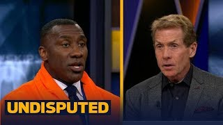 Skip Bayless and Shannon Sharpe react to Floyd Mayweather's TKO against Conor McGregor   UNDISPUTED