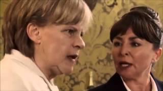 Merkel Singing - Tracey Ullman's Show
