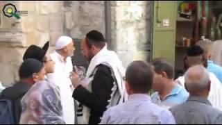 دعاء مؤثر من امام ابواب المسجد الاقصى المبارك     -