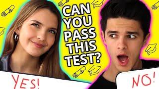 High School Trivia   VS w/ Brent & Lexi Rivera