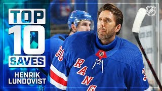 Top 10 Henrik Lundqvist saves from 2018-19
