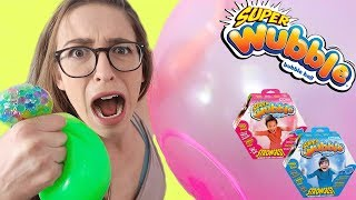 Trying Wubble Bubble Products!