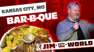 """Kansas City BBQ"" - Jim Eats The World - Jim Gaffigan"