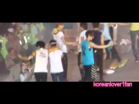 120922 FX AMBER CUTE MOMENTS with SEHUN&LUHAN&KAI&CHEN&XIUMIN!