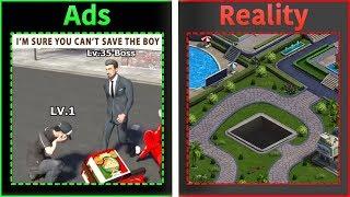 Mobile Game Ads Vs. Reality 2
