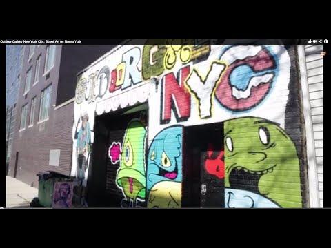 Outdoor Gallery New York City: Street Art en Nueva York