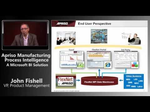 Apriso Manufacturing Process Intelligence - A Microsoft BI Solution