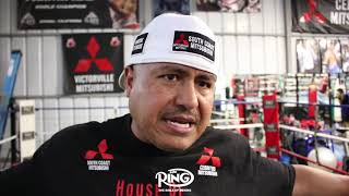 "ROBERT GARCIA ""MIKEY TOLD ME LIPINETS HITS HARDER THEN ERROL SPENCE"""