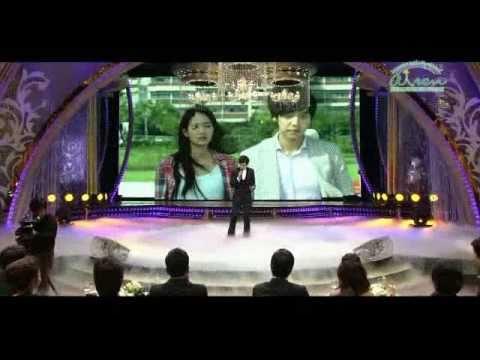 Lee Seung Gi - Shin Min Ah.MGIG Hoi Couple@2010 SBS Drama Awards.101231
