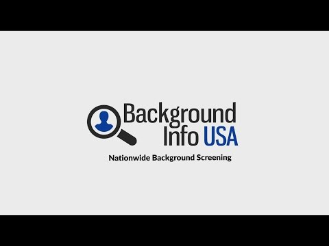 Why choose Background Info USA?