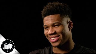 Giannis Antetokounmpo exclusive interview on MVP-caliber season, Anthony Davis trade saga | The Jump